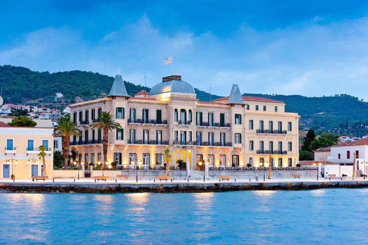 Le Poseidonion Grand Hotel à Spetses En Grèce