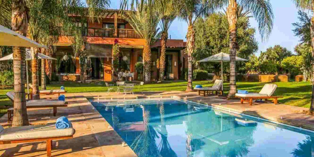 Villa avec picine à Marrakech